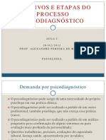 Aula 2-28-02 2012 Objetivos e Etapas Do Psicodiagnc3b3stico
