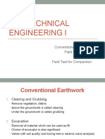 Geotechnical Engineering 8 - Field Compaction