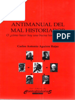 Antimanual Del Mal Historiador - Desconocido