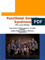 10.Functional Somatic Syndrome