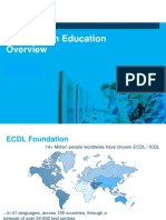 ict in education overview