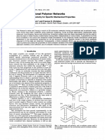 1995_Auxetic Two-dimensional Polymer Networks