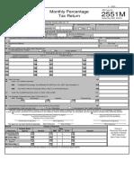 Bir Form Percentage Tax