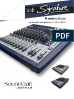 Soundcraft 12 Signature Manuale