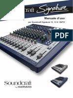 Soundcraft 12 Signature Manuale