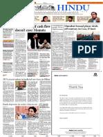 28-12-2016 - The Hindu - Shashi Thakur