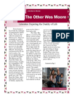the other wes moore project pdf