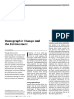 Demographic Change and the Environment