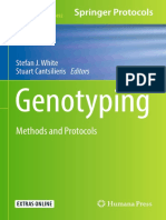 Genotyping Methods and Protocols