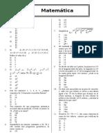Algebra Test 01