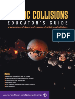 Cosmic Collisions Educator Guide