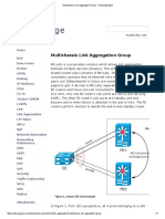 Multichassis Link Aggregation Group - Knowledge Base