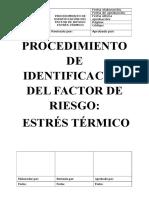 Procedimiento de identificacion de riesgo
