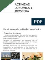 Actividad Economica y Biosfera