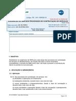 PE-1AT-00058-D - EXIGÊNCIAS DE SMS NOS PROCESSOS DE CONTRATAÇÃO DE SERVIÇOS