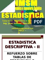 2017 - 0 - 01 Estadistica Descriptiva i - Reforzamiento