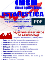 2017 - 0 - 01 ESTADISTICA DESCRIPTIVA I -  09 DE ENERO 0927.ppt