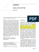 2D Numerical Simulations of Soil Nail Walls - Babu-Vikas -- Original Paper