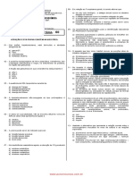 FAB 2001 Prova Bioquímica