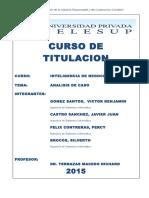 Sysco Analisis de Caso 2015