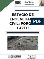 Estagio Engenharia Civil- Porque Fazer