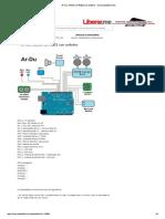 Ar-Du. Montar Un R2D2 Con Arduino