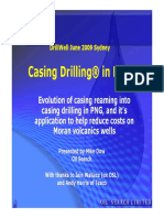 DrillWell June09 Oil Search Mike Dow Casing Drilling