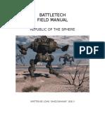Battletech - MechWarrior DA - Field Manual - Republic of the Sphere