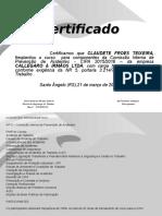 Certificado CIPA 2015-Claudete.ppt