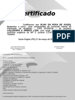 Certificado CIPA 2015-Elias da Rosa de Souza.ppt