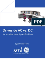 Drives de AC vs. DC for variable velocity applications