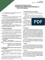 Surface Preparation Specification Nº2 SSPC-SP-2