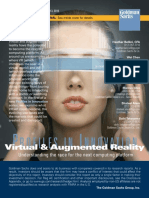 Virtual reality report (by Goldman Sachs)