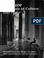 196007685 Leisure the Basis of Culture Josef Pieper Gerald Malsbary Roger Scruton