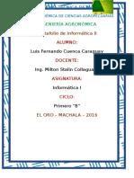 Luis Fernando Cuenca Caraguay Portafolio 2