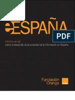 eEspaña 2010 - Informe Sociedad de la Información en España. Fundación Organge