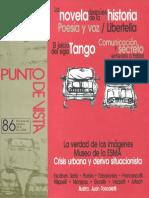 La Novela Después de La Historia Sarlo