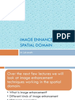 Image Enchancement in Spatial Domain