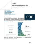 ArcGIS 10 Instalação e Licenciamento Education Edition