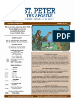 St. Peter the Apostle Bulletin 1-22-17