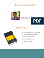 8 Togaf 9 1 Enterprise Architecture Framework Overview m8 Slides