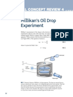 Chapter 3 CCR 4 Millikans Oil Drop Experiment