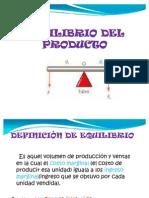 Equilibrio Del Producto 2010
