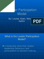Leader Participation Model.ppt
