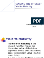 PRESENTATION 2. UNDERSTANDING THE INTEREST RATES. THE YIELD TO MATURITY.ppt