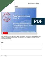 Procurement Category Hierarchy-R11 Cloud