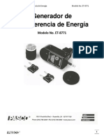 Generador de Transferencia de Energía