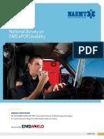 Ems Epcr Usability Survey 16