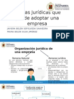 Figuras Jurídicas Que Puede Adoptar Una Empresa