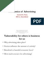 3. Economics of Advertising (1)
